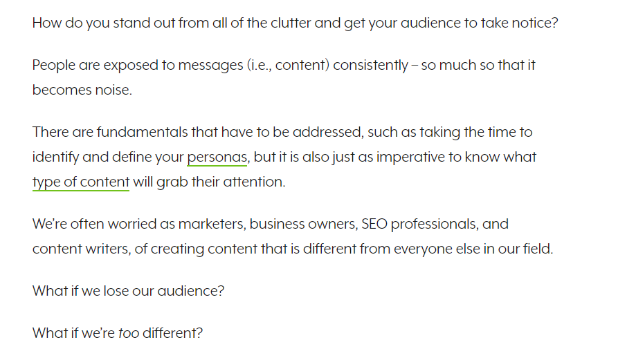 Engaging content from Search Engine Journal