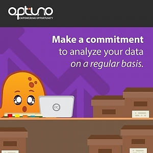 regularly analyze data