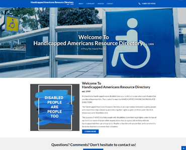 Handicapped Americans Resource Directory