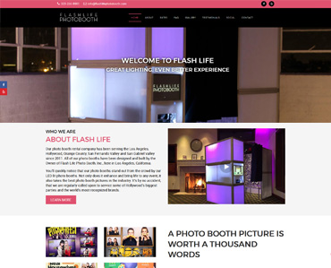 Flash Life Photo Booth