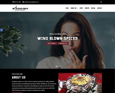 Wind Blown Spices