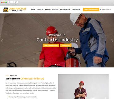 Contractor theme