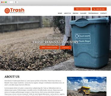Trash Removal theme