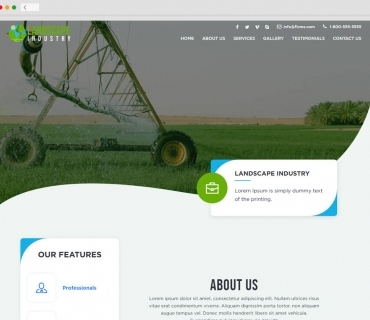Landscaping theme