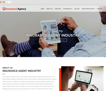Insurance Agency theme