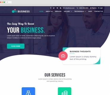 Business Thoughts theme