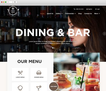 Dining and Bar theme