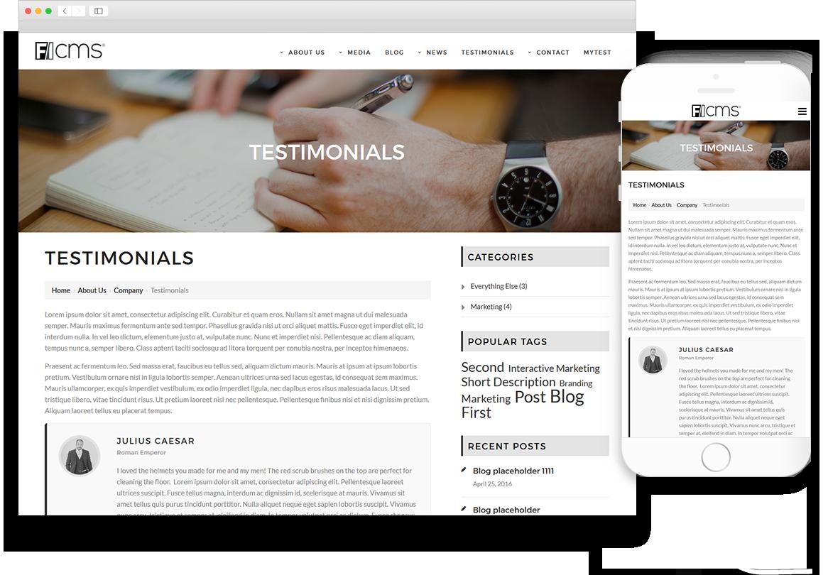 Optuno Business Website Design