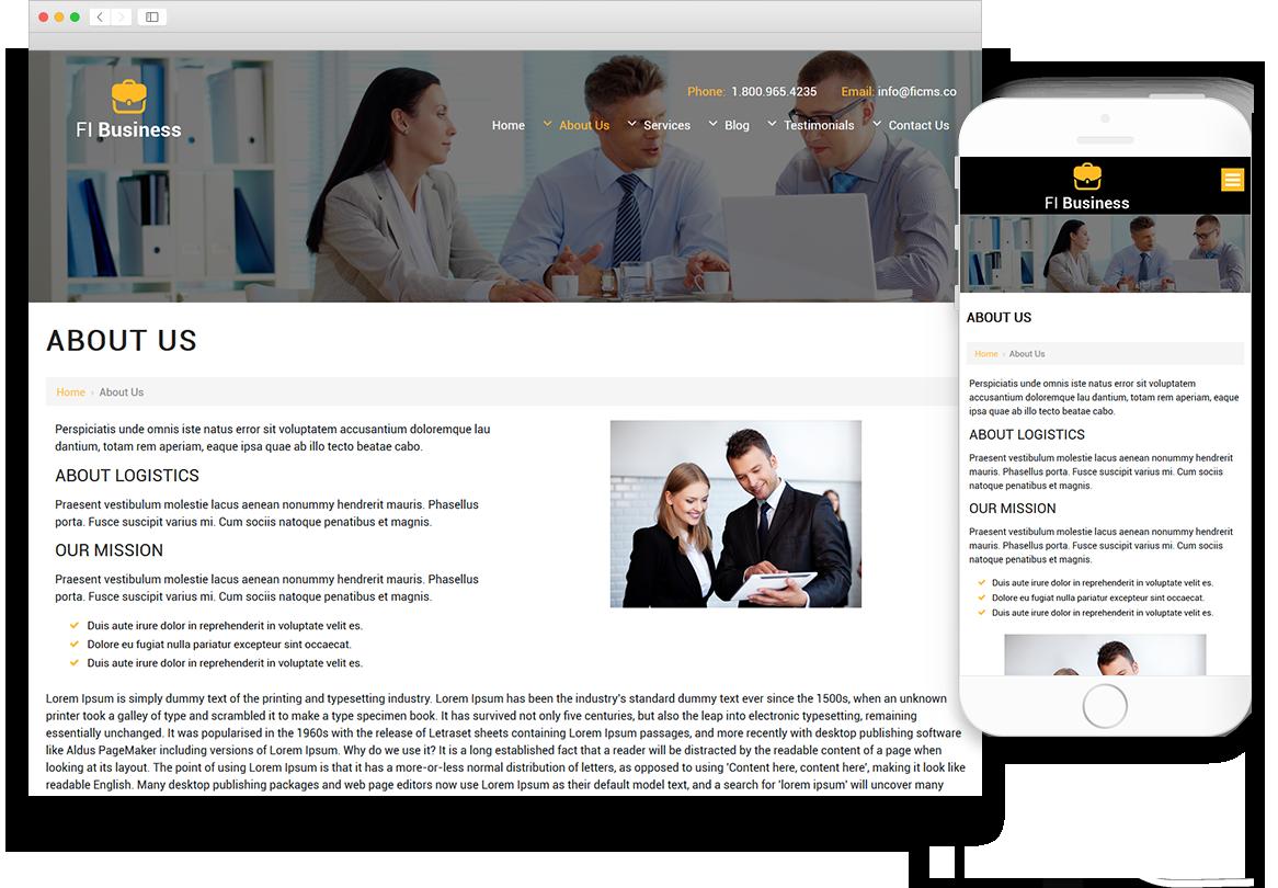 Optuno Business - The Closer Website Design