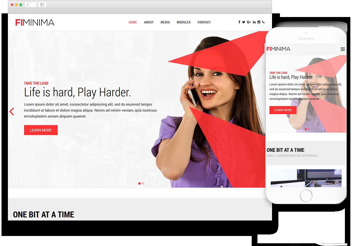 Optuno Minima Web Design