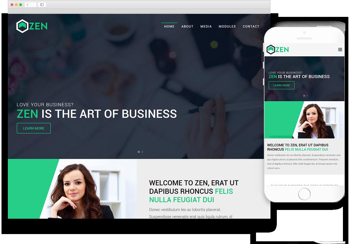 Optuno Zen Web Design