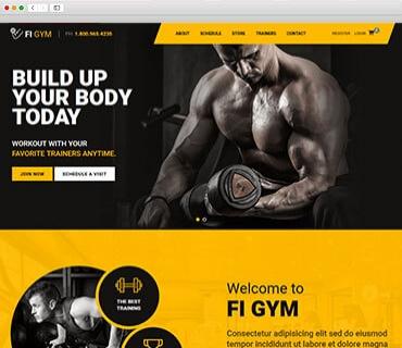 Gym theme