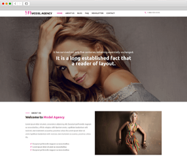 Model Agency theme